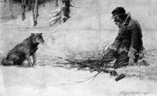 to build a fire by jack To build a fire ay had dawned cold and gray when the man turned  aside from the main yukon trail he climbed the high earth-bank where a.