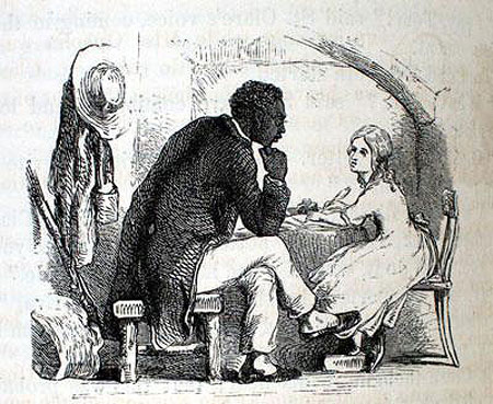The theme of slavery and its immorality in the novel uncle toms cabin by harriet beecher stowe