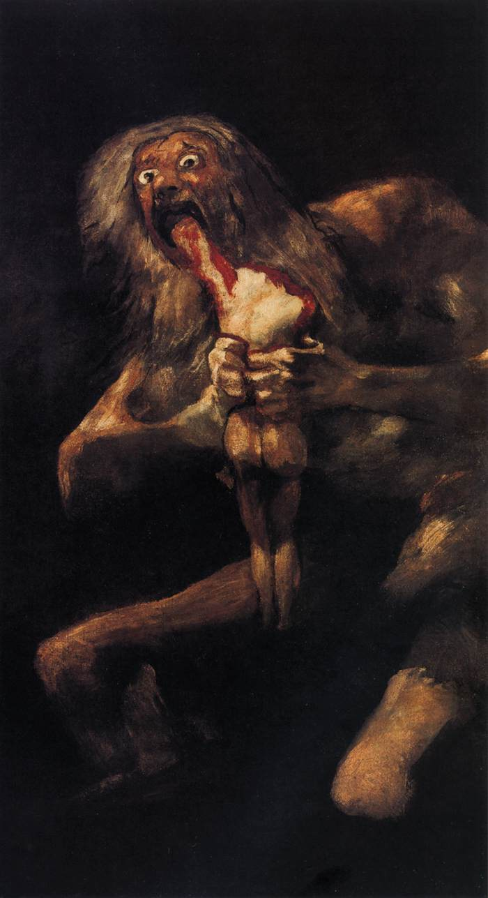 Goyas Black Paintings - Francisco goya paintings