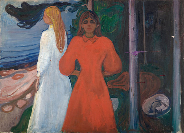 Edvard_Munch_-_Red_and_White
