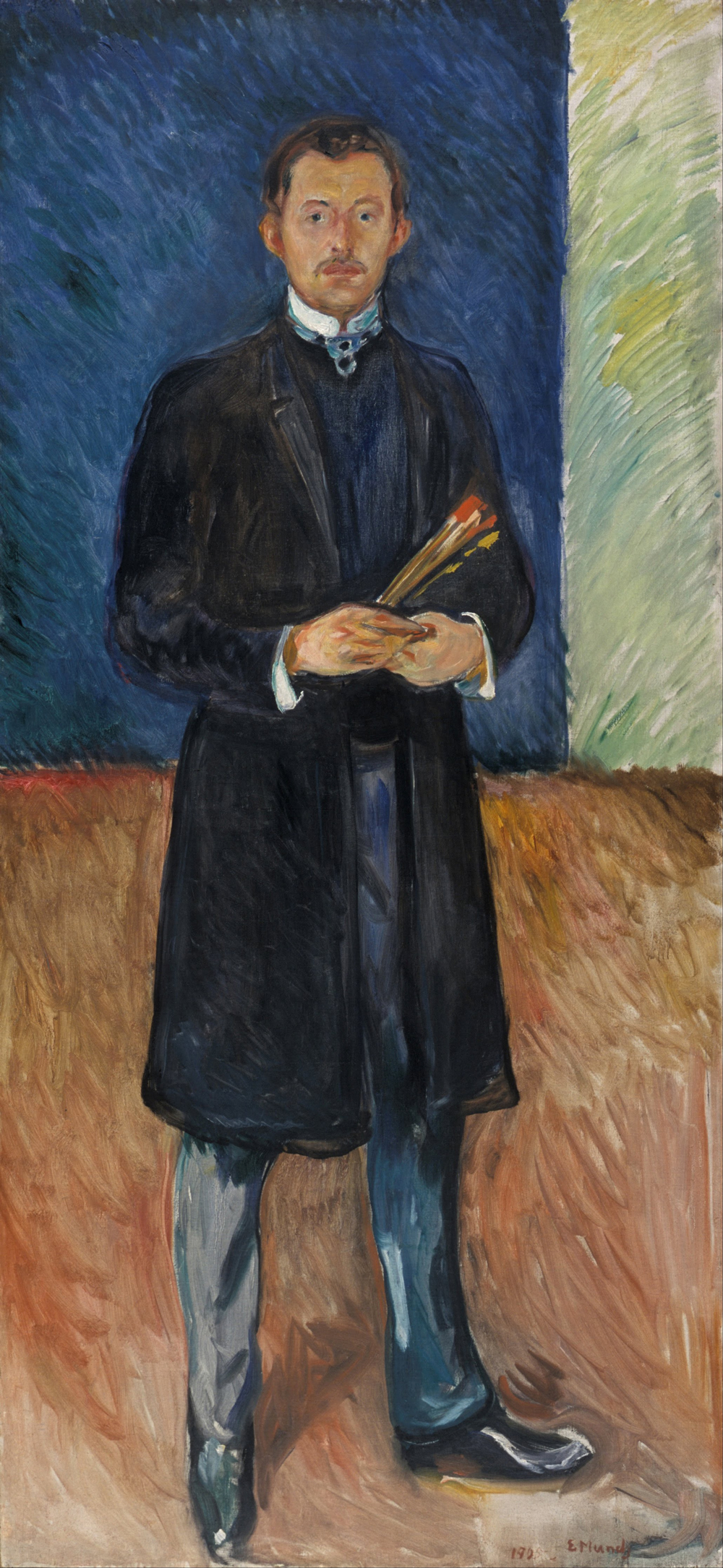 Edvard_Munch_-_Self-Portrait_with_Brushes