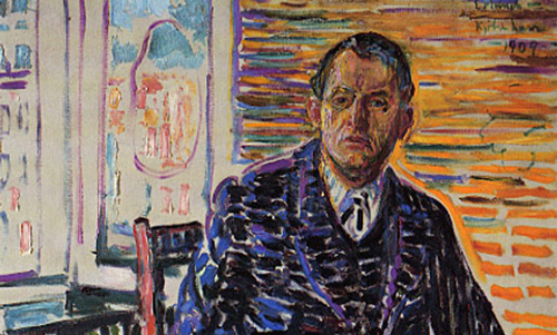Edvard Munch's Self-Portraits