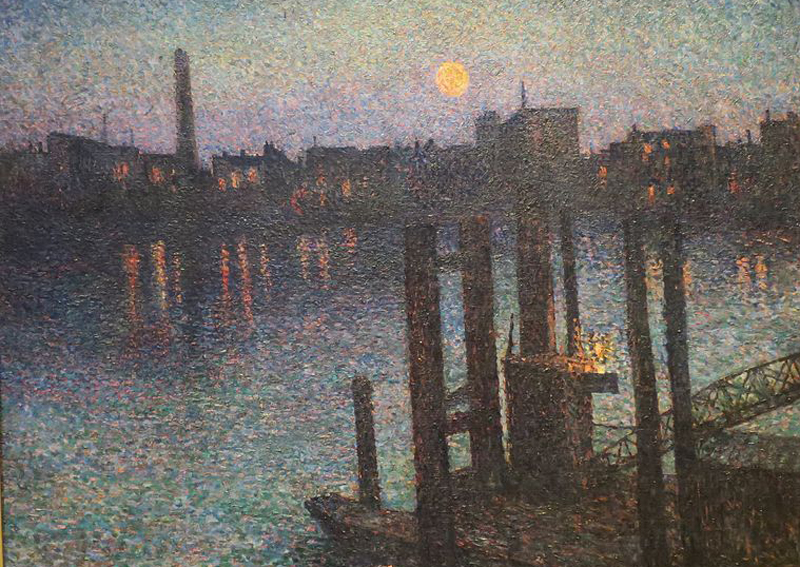 Port_of_London,_Night_by_Maximilien_Luce,_High_Museum_of_Art