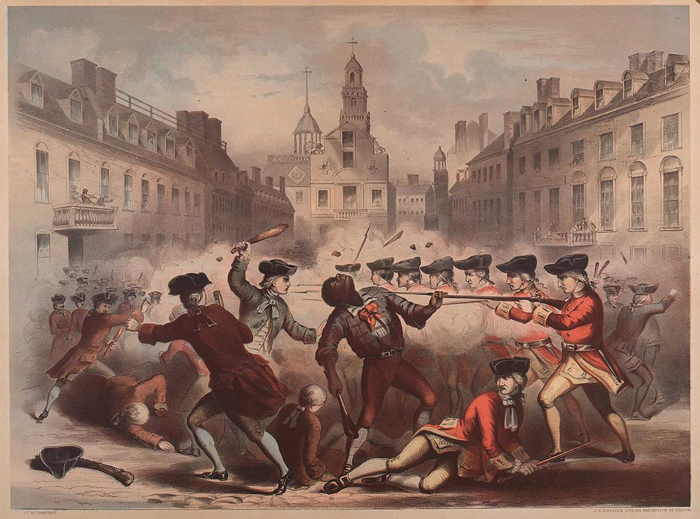 Image result for the boston massacre