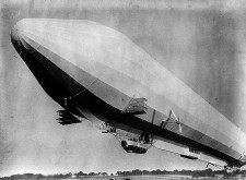 As early as 1909, newspapers had reported (entirely imaginary) Zeppelin sightings…