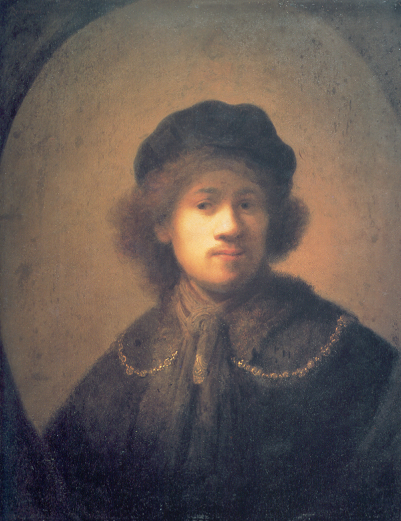 Rembrandt-beret-gold-chain-1930