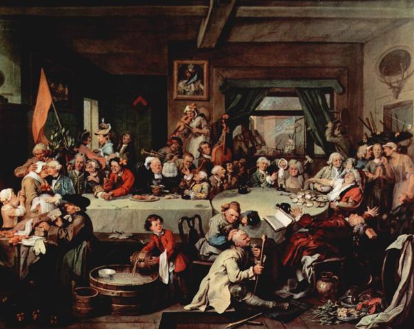 an-election-entertainment-william_Hogarth