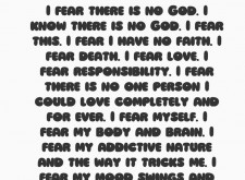 'I Fear' by Penny Goring