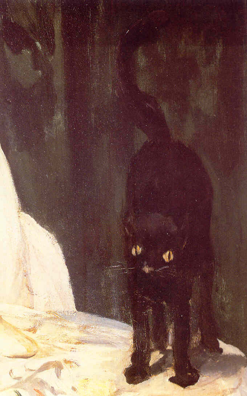 Olympia_manet_cat_detail
