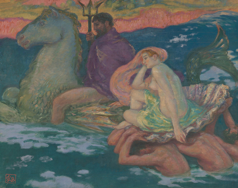 1279px-Rupert_Bunny_-_Poseidon_and_Amphitrite_-_Google_Art_Project