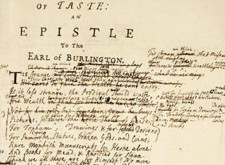 'Of Taste, or The Use of Riches' by Alexander Pope