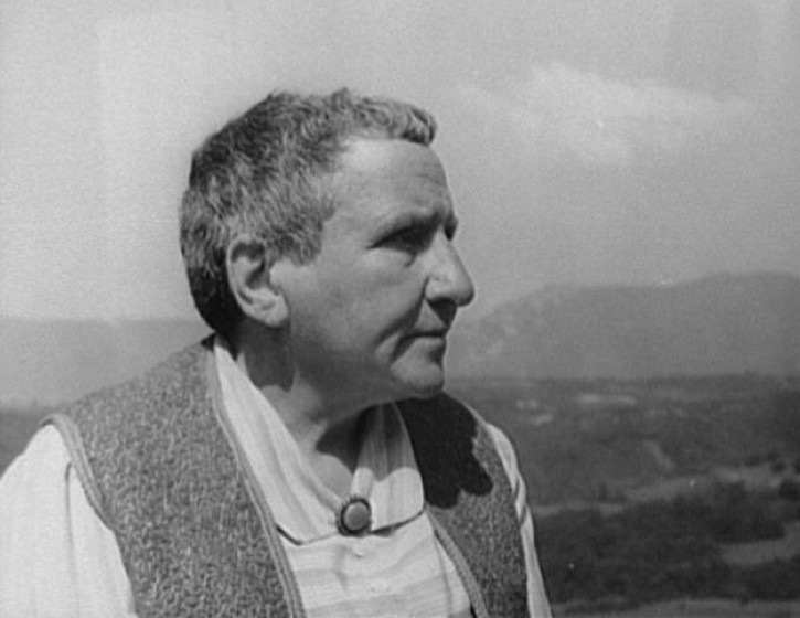 Gertrude Stein on writing and painting and all that