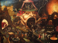 Bosch's imagination ranged from a place beyond the spheres of Heaven to the uttermost depths of Hell…
