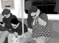 Subway Napping