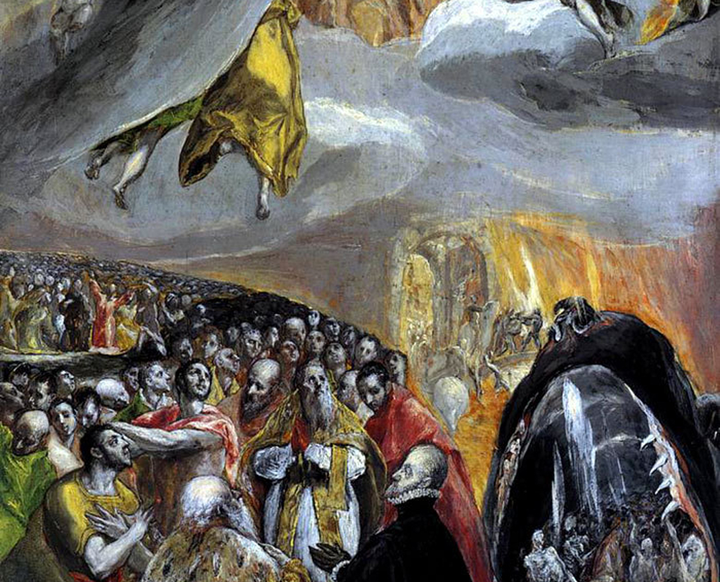 'El Greco: Fireworks' and 'Beyond Gravity and Grace' by George Kalogeris
