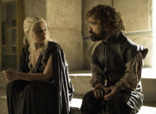 Is Tyrion Lannister related to Daenerys Targaryen?