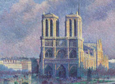16 Paintings of Notre-Dame de Paris