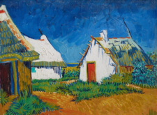 For Van Gogh, the Camargue huts were active…