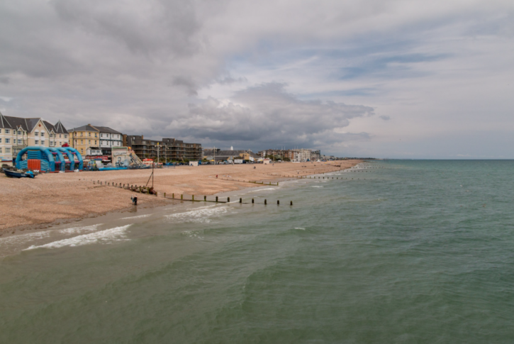 While on holiday in Bognor…