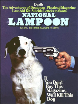 With the Vietnam War, black power, feminism, the Nixon administration, marijuana and LSD, student rebellion, and the sexual revolution roiling the country, targets for the newly launched National Lampoon were plentiful…