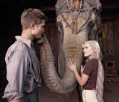 Reese Witherspoon and Elephants