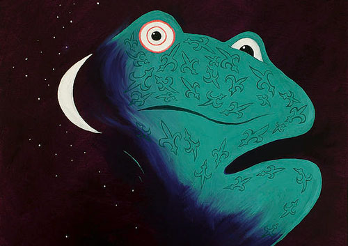 Frog Loves Moon