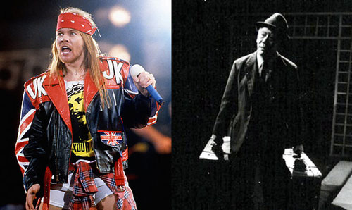 From Axl Rose to Willy Loman
