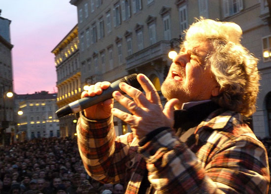 At the heart of M5S remains television, the mother of all Italian populisms…