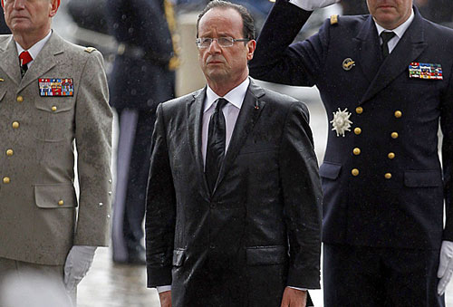 A Year of Hollande by John Gaffney