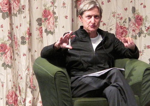Judith Butler Talks Cohabitation