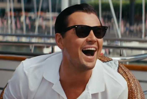 Is The Wolf of Wall Street ironic?