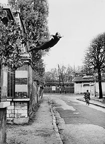 How did Yves Klein make his Leap into the Void?