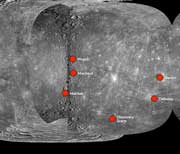 Messenger Spacecraft Maps Mercury