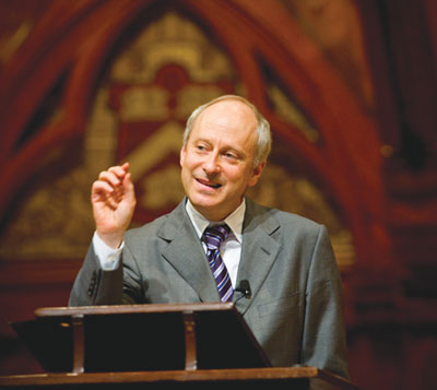 Michael Sandel Talks Justice