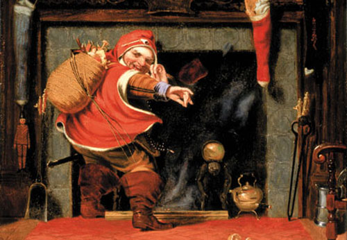 """Chubby and plump…right jolly old elf"""