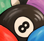 'Eight Ball' by Claudia Emerson