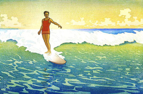 'Hawaiians have been surfing for more than a thousand years'