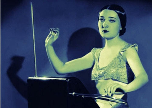 Clara Rockmore's Theremin by Shane Jesse Christmass